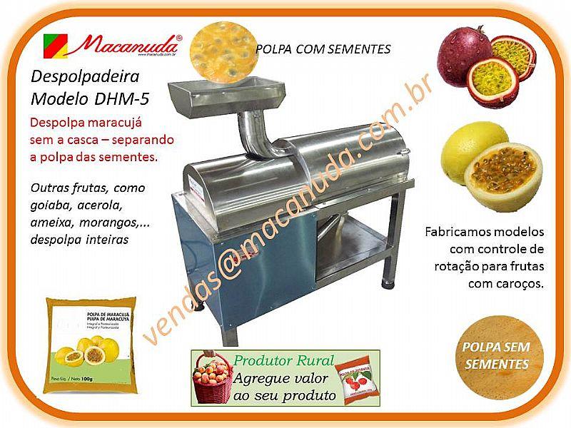 DESPOLPADEIRA INDUSTRIAL DE FRUTAS MACANUDA
