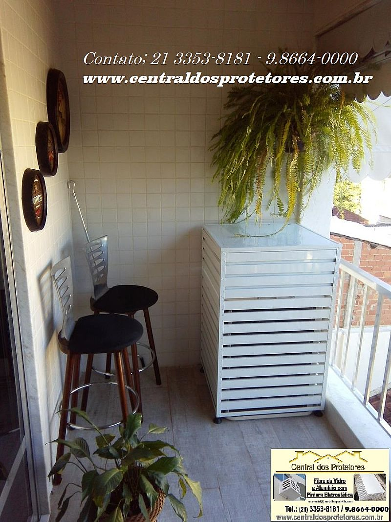 Caixa Grade Capa Protetor Ar Condicionado e Split