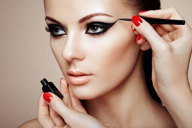 Maquiagem passo a passo noite