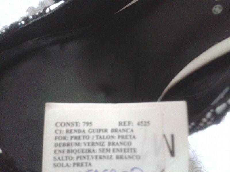 Sapato Luxuoso Renda