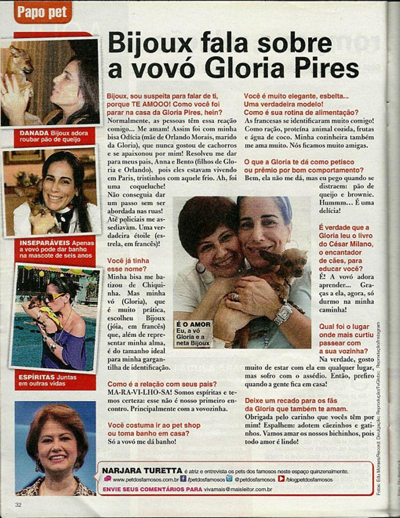 De Volta a TV Patricia Abravanel Revela Nao ser Mae Medrosa,  Revista Viva Mais nº 807