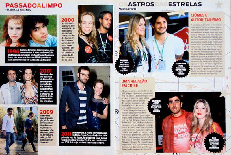 Meu Foco e Ser Feliz,  Declara Nathalia Dill,  Revista Jae Domingo nº 163