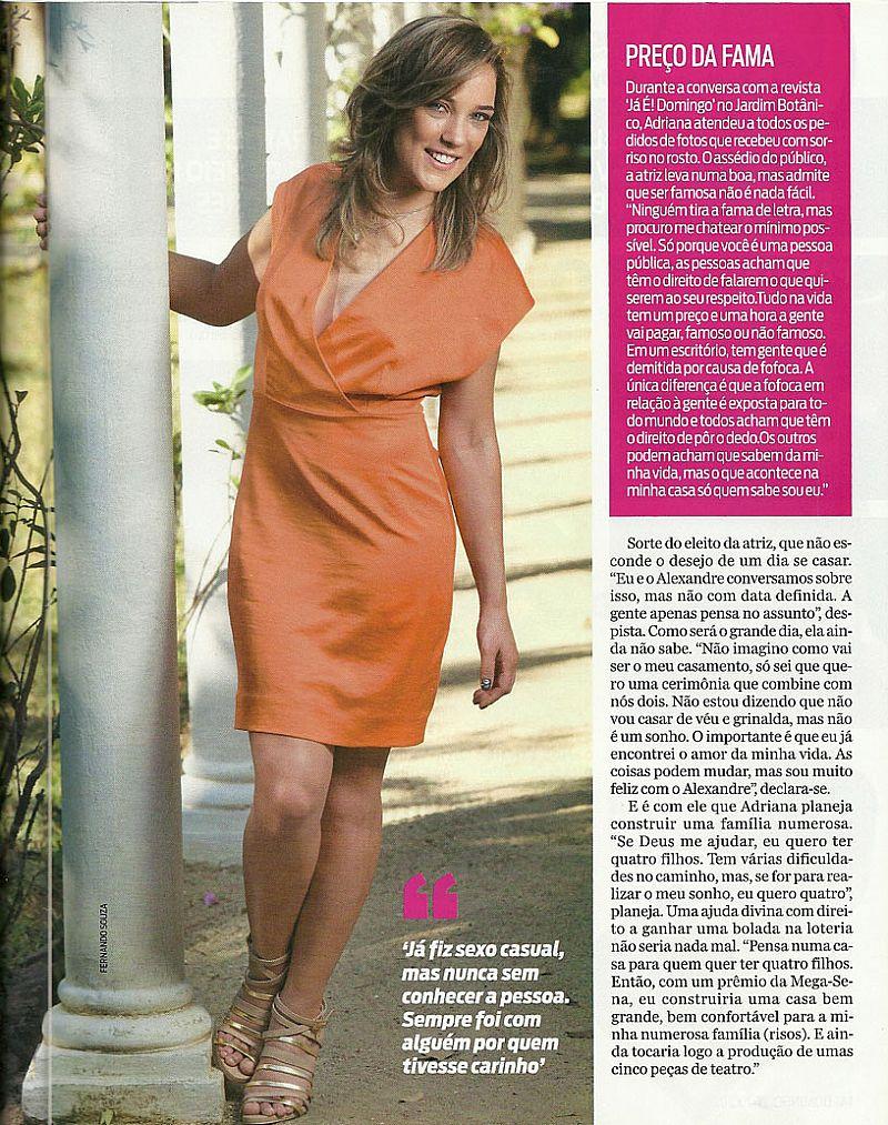 Amanda de Imperio,  Acredita Que Toda Forma de Amar...,  Atriz Adriana Birolli,
