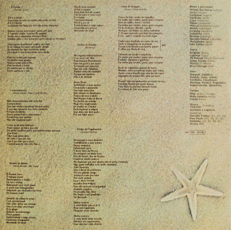 Clara Esperanca,  Letras dos Sucessos,  LP Esterio Emi Odeon 1979