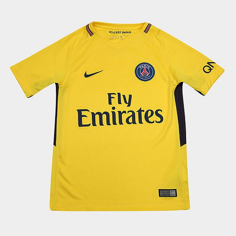 9e6620c9dd ... Foto 5 Camisa paris saint germain home 17/18 s/nº torcedor nike mas