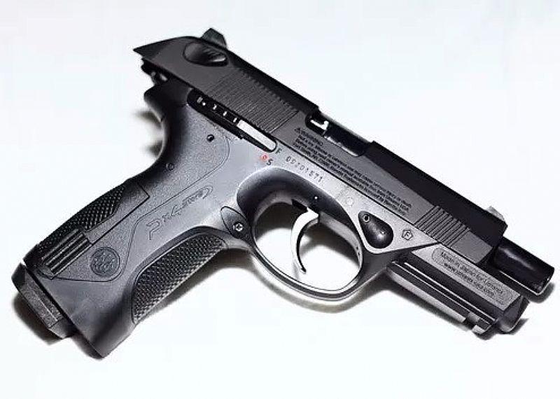 Pistola de pressão co2 umarex beretta px4 storm