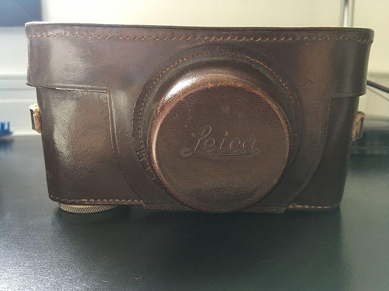 Camera leica de 1938 em otimo estado tudo funcionando capa original lente sem riscos