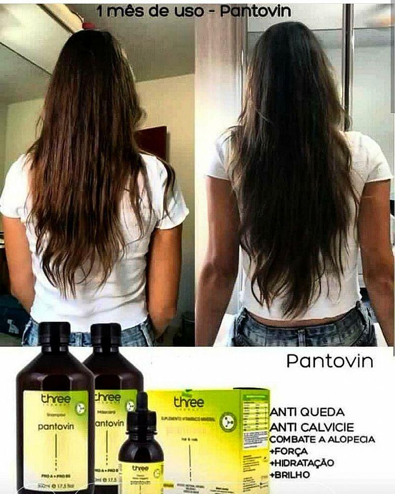 Tratamento para fortalecimento e crescimento dos cabelos