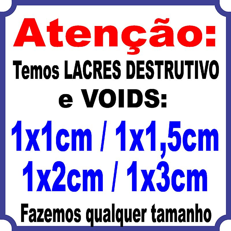 1.000 lacres casca de ovo 1x3cm / melhor preco do brasil