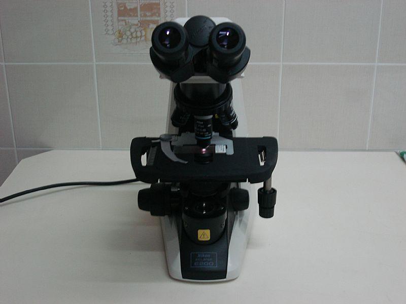 Microscopio nikon eclipse e 200 led binocular