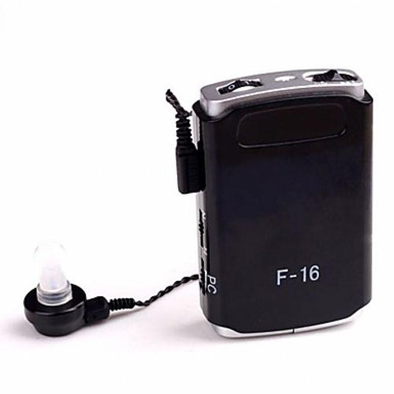 Aparelho auditivo novo,   axon hearing serie de bolso,   tecnologia