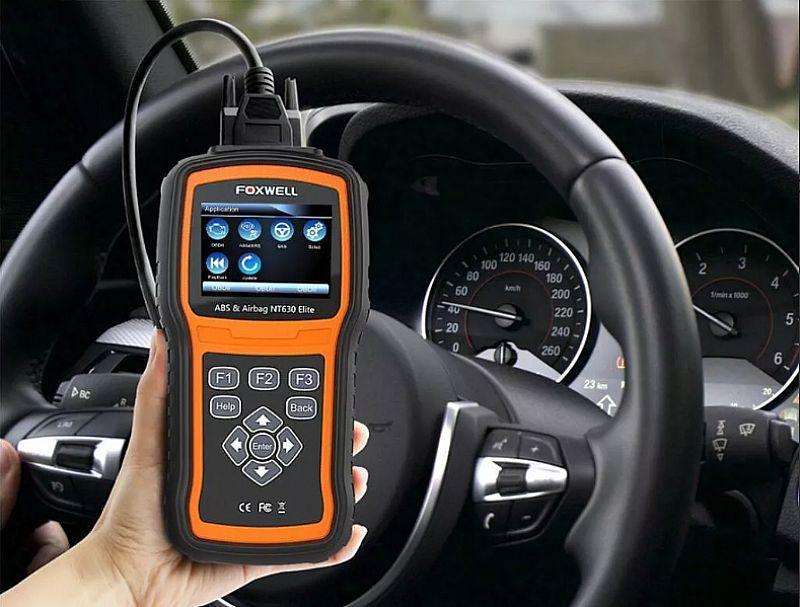 Scanner automotivo foxwell nt630 abs air bag profissional