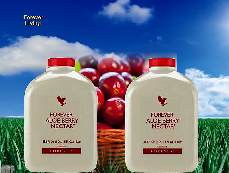 Aloe berry nectar   forever living produto natural.