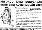 Molao da Kombi Molao 2000 Kit Reforco da Suspensao