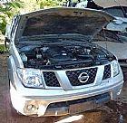 Sucata Nissan Frontier 2.5 - 2010 - Cambio Mecanico 4x2  -  Somente em pecas