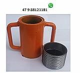 Canecas roscas componentes p fabricacao construcao e reforma escoras metalicas