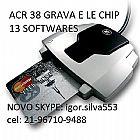 ACR GRAVADORA SMRARTCARD EMV ISO 7816 21-995125319  CREDITO E DEBITO