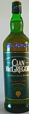 Whisky Escoces Clan Macgregor 8 Anos 1 Litro