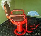 cadeira de barbeiro antiga ferrante