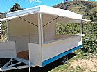 Trailer para lanches Simples