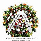 150, 00 coroas de flores velorio cemiterios cidades Belo Horizonte,  Contagem,  Nova Lima,  Sabara e Santa Luzia sem taxa de entrega