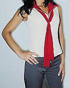 Blusa de thoway  bordado incluso