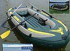 Barco inflavel seahawk - fundo de compensado  naval rigido - completo!!!