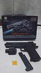 Airsoft Pistola Colt em ABS