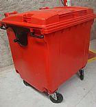 Container/lixeira plastica 1100l