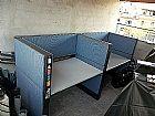 Estacao de trabalho - call center - mesa para escritorio com divisoria - moveis de qualidade