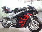 mini moto estilo de corrida