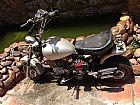 mini moto modelo retro - gaiola