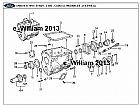 Catalogo pecas Ford Onibus B1618,   B1621 57 paginas JPG