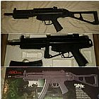Metralhadora de Airsoft Gun