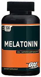 Melatonina mg 100 comprimidos Optimum Nutrition