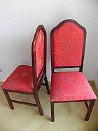 Cadeiras em mogno
