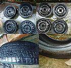 Rodas de ferro aro 15 e 16 e pneus 185/55 r15