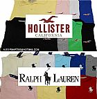 Camisa Polo Hollister,    Ralph Lauren e outras