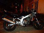 Moto Suzuki gs500e preta