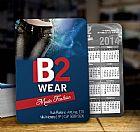 Calendario de bolso - 65x95mm 500 unidades