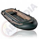 Bote inflavel barco 4 pessoas remo bomba pescaria praia passeios mar rio lagoa