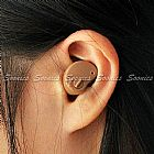 Aparelho auditivo,   novo,   compacto e completo,   com manual.