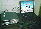 Computador completo hp .0 ghz ht windows 7 lcd 17