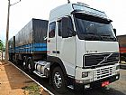 Volvo fh 440 truck 6x4 globetroter 2002 c om bitreem 8 eixos