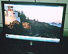 Monitor de lcd de 17  polegadas widescreen acompanha cabos em osasco