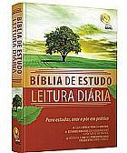 Biblia de Estudo Leitura Diaria Central Gospel
