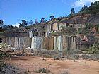 Pedreira do granito verde labrador / ubatuba