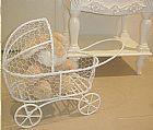 Miniatura carrinho de bebe