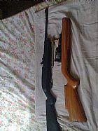 carabina crosman 1077 com kit/ de adptacao R$ 1.200, 00