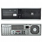 Computador cpu hp dual core 3.0 ghz 2gb ram wind 7 lcd 17